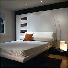 beautiful bedroom decoration ideas using comfortable bed and attractive table lamps basement bedroom lighting ideas