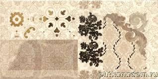 <b>Absolut Keramika</b> Monocolor <b>Decor Flores</b> Cava <b>Декор</b> 10х20