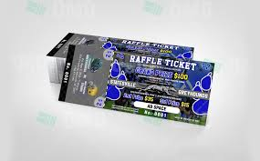 sports invites youth sports money making package raffle ticket design 2