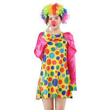 2019 170cm 180cm Halloween <b>Funny Clown Costumes</b> Girl ...