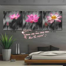 modern wall art home abstract decorative flower modern wall art home decoration printed oil painting pictures  piece a
