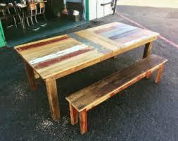 barn wood dining table carrillion handmade reclaimed wood dining table
