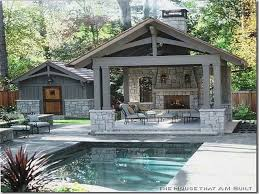 images about pool house ideas on Pinterest   Pool houses       images about pool house ideas on Pinterest   Pool houses  Pool house designs and Pools
