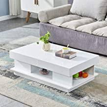 High Gloss Coffee Table - Amazon.com