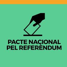 """Resultat d'imatges de """"pacte nacional pel referendum"""""""