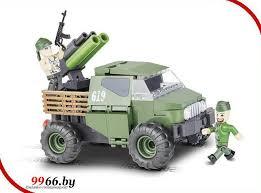 <b>Конструктор Cobi</b> Small Army <b>Армейский</b> бронированый <b>пикап</b> ...