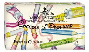 Купить <b>натуральное мыло</b> coccole di profumo <b>fiori</b> di cotone 100г ...