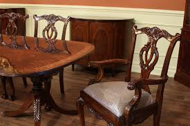 Chippendale Dining Room Table High End Dining Table Federal Style12 Foot Mahogany Dining Tab