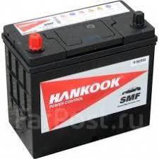Аккумулятор <b>Hankook 48 Ач</b> (60B24R) asia - Аккумуляторы в ...