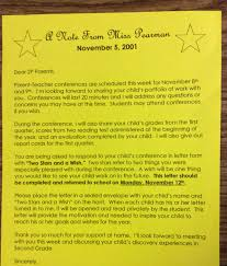 the teacher dish parent teacher conference tips below are some examples of letters that i sent home to parents detailing what to do for the two stars and a wish