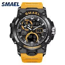 Часы <b>SMAEL</b>, армейские, спортивные, водонепроницаемые, 50 ...
