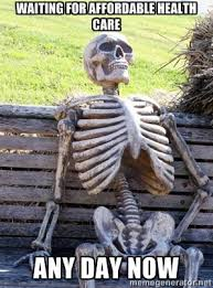 Waiting Skeleton | Meme Generator via Relatably.com