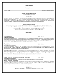 administrative assistant resume summary template administrative assistant resume summary