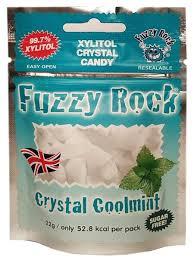 <b>Кристаллы ксилитола Fuzzy Rock</b> Мята 22 г — купить по ...