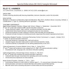 resume format with special  seangarrette cospecial education teacher resume template special education teacher resume template
