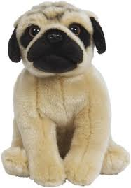 Hamleys Pug Soft Toy - 9.8 inch(Multicolor) - buy at the price of ...