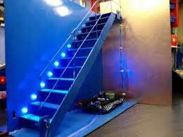 automatic stair led lighting demonstration automatic led stair lighting