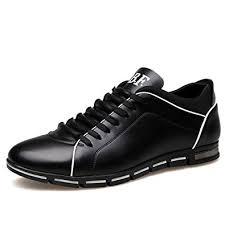 Blivener Men's Flat Casual Shoes Lace up Oxford ... - Amazon.com
