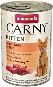 <b>Animonda Carny</b> Kitten Cat Food Wet Food for Young Cats: Amazon ...