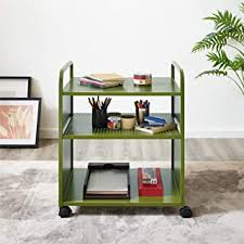 Green - Bar & Serving Carts / Home Bar Furniture ... - Amazon.com