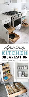 photos kitchen cabinet organization: the best kitchen cabinet organization ideas this modern farmhouse white kitchen is full of clever