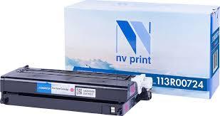 Тонер-<b>картридж NV Print 113R00724</b>, пурпурный, для лазерного ...