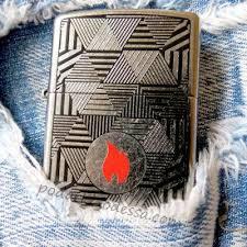 Купить <b>Зажигалку Zippo</b> 29546 <b>Triangles</b> (Оригинал) с Доставкой