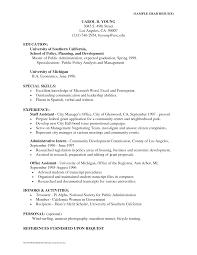 public administration sample resume sample resume for cfo salary slipresume u2013 john clishem news photographer sle resume doc administration public policy resumehtml