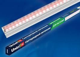 <b>Светильник</b> для растений <b>светодиодный</b> линейный <b>Uniel</b> ULI ...