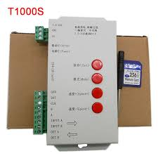 <b>T1000S 128SD Card</b> led Pixels Controller,<b>DC5</b>~<b>24V</b>,for WS2801 ...