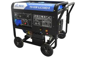 Инверторный <b>бензиновый сварочный генератор</b> TSS GGW 6.0 ...