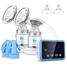 Breast Pump,Bellababy Dual Suction Electric Breastfeeding Pump ...