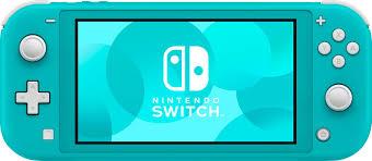 Nintendo Switch 32GB Lite <b>Turquoise</b> HDHSBAZAA - Best Buy