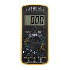 <b>Мультиметр</b> цифровой <b>Tek DT</b>-9205A - цена, отзывы, видео ...