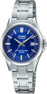 <b>Женские часы Casio LTS-100D-2A2VEF</b> (Япония, кварцевый ...