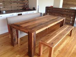 Dining Room Tables With Bench Homemade Dining Room Table Ingitk