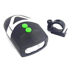 Buy FASTPED Cool Bell with 3 LED Light <b>Bicycle Bike</b> Accessories ...
