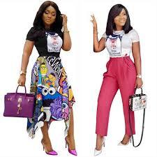 Women Short Sleeves Cute <b>Print Casual</b> Club Party <b>Black</b> White ...