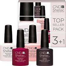 <b>CND Shellac</b> Colour Set - Top Seller Pack of 3-4 Colours (<b>Fedora</b> ...