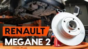 Как заменить <b>задние тормозные диски</b> на RENAULT MEGANE 2 ...
