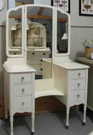 makeup wooden together with beautiful home furniture ideas vintage vanity