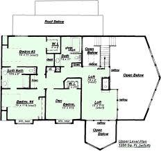 Creative House Plans Model HC Upper Floor PlanCreativeHousePlans com house plans can easily be modified to meet local building codes