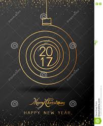 merry christmas happy new year gold 2017 spiral shape ideal for merry christmas happy new year gold 2017 spiral shape ideal for xmas card