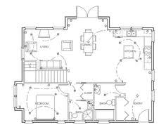 ideas about Home Design Software on Pinterest   Free Home    Learn a simple method to make your own blueprints for your custom house design  This