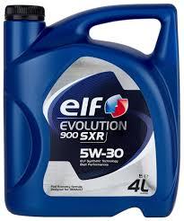 <b>Моторное масло ELF</b> Evolution 900 SXR 5W-30 4 л — купить по ...