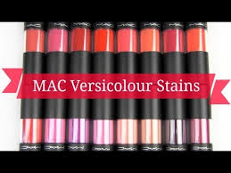 <b>MAC Versicolour</b> Stains: Lip Swatches & Review - YouTube