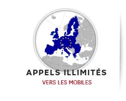 avec lextra appels illimits vers les mobiles deurope tlphonez sans limite vers les mobiles de tous les oprateurs en europe partir du tlphone fixe box home de sfr pack