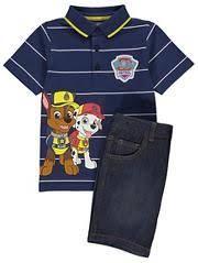PAW Patrol <b>Polo Shirt</b> and Shorts Set | Christmas gifts | <b>Kids</b> outfits ...