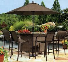 tall square wicker outdoor patio