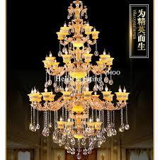Illuminazione Ingresso Villa : Ingrosso di alta qualità hotel crystal led lampadario da grossisti